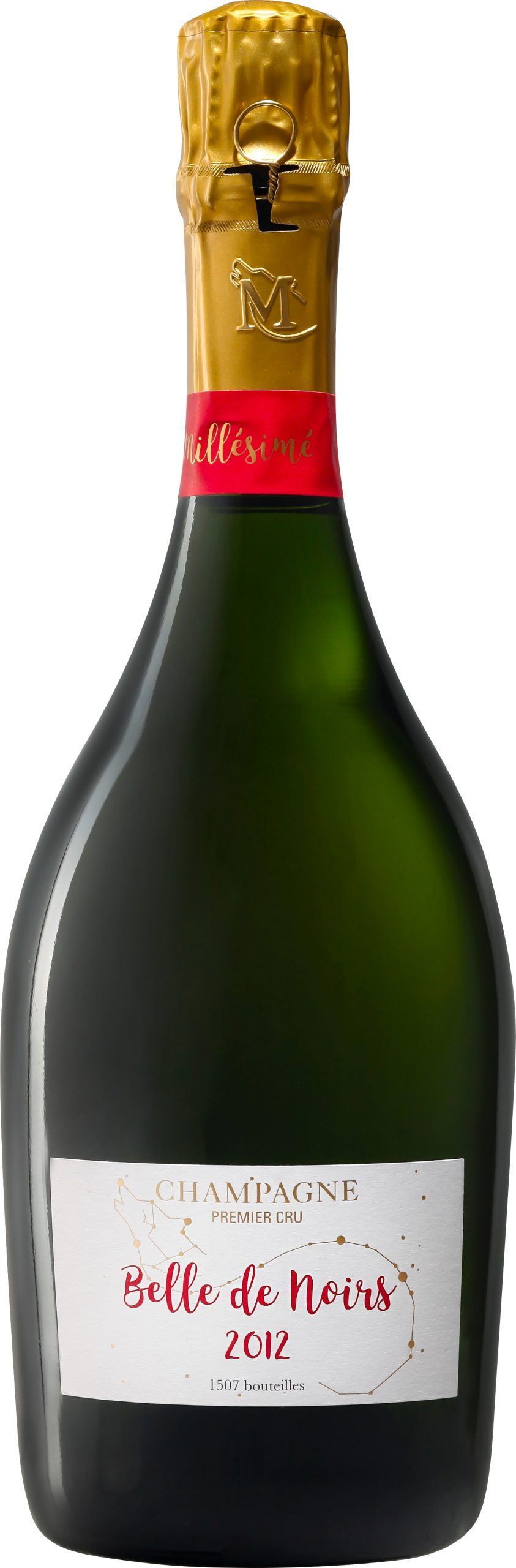 Belle de Noirs - Champagne Guy Mea