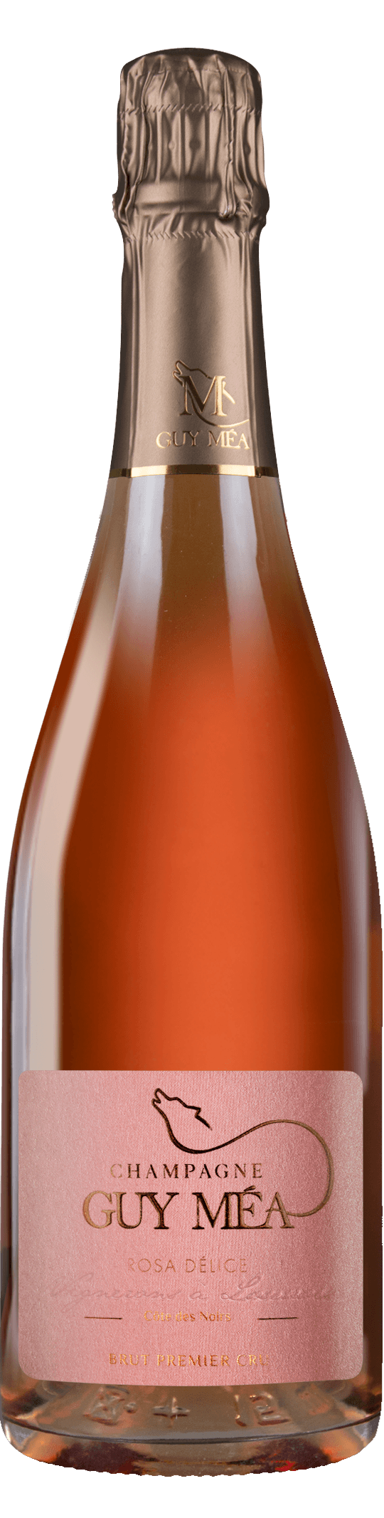 Rosa Délice - Champagne Guy Mea